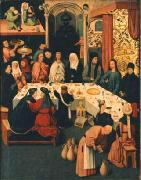 Jheronimus Bosch The Marriage Feast at Cana. oil