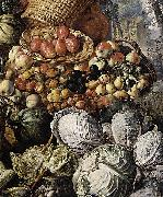 Joachim Beuckelaer Market Woman with Fruit oil painting