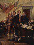 John Trumbull The Declaration of Independence, July 4, 1776 oil painting