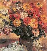 Lovis Corinth Zinnien oil painting reproduction