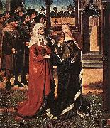Master of the Legend of St. Lucy Scene from the St Lucy Legend oil painting on canvas