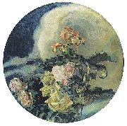 Mikhail Vrubel Yellow Roses oil painting reproduction