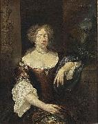 caspar netscher Portrait of a Lady oil painting artist
