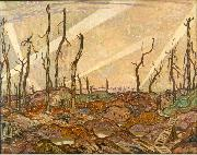 Alexander Young Jackson A Copse oil painting