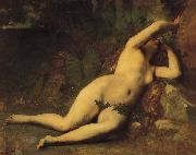 Alexandre Cabanel Eve After the Fall oil