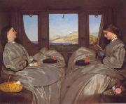 Augustus Egg The Travelling Companions oil painting