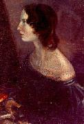 Branwell Bronte A portrait of Emily, by Branwell oil