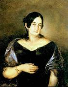 Dyck, Anthony van Portrait of Maria Luiza Panasco oil painting artist