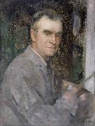 Edward Arthur Walton Self portrait oil painting artist
