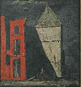 James Pryde and William Nicholson The Red Ruin oil painting