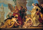 Jan Boeckhorst Achilles among the daughters of Lycomedes oil