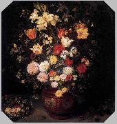 Jan Brueghel Bouquet of Flowers oil painting artist