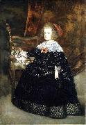 Juan Bautista del Mazo Portrait of Maria Theresa of Austria while an infant oil