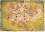 Paul Klee Rotating House oil painting on canvas