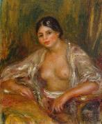 Pierre-Auguste Renoir Gabrielle in Oriental Costume oil painting reproduction