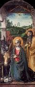 Vincenzo Foppa Adoration of the Christ Child oil painting artist