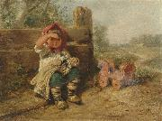 Wilhelm Busch Waiting for friends oil painting reproduction