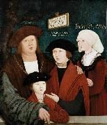 bernhard strigel Portrait of the Cuspinian Family oil painting
