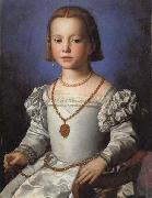 Agnolo Bronzino Portrait of Bia oil painting picture wholesale