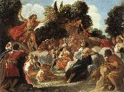 Anastagio Fontebuoni St.john the Baptist Preaching oil painting