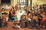 Andrea Boscoli The Marriage at Cana oil