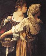 Artemisia gentileschi Judith and Her Maidser oil painting