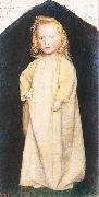 Arthur Devis Edward Robert Hughes as a Child oil
