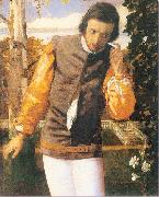 Arthur Devis Benedick in the Arbor oil