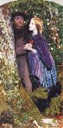 Arthur Hughes The Long Engagement oil painting
