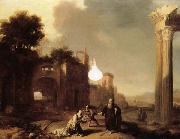 BREENBERGH, Bartholomeus The Prophet Elijah and the Widow of Zarephath oil painting picture wholesale