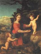 BUGIARDINI, Giuliano Madonna and Child with hte Young St.john t he Baptist oil