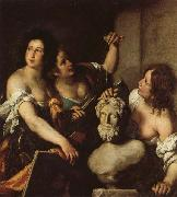 Bernardo Strozzi Allegory of the Arts oil