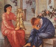 Burne-Jones, Sir Edward Coley The Lament oil