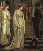 Burne-Jones, Sir Edward Coley The Princess Sabra Led to the Dragon oil painting artist