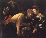 CARACCIOLO, Giovanni Battista Salome with the Head of John the Baptist oil painting picture wholesale