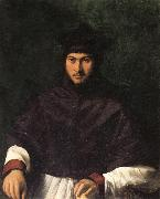 CARPI, Girolamo da Portrait of Archbishop Bartolini Salimbeni oil painting