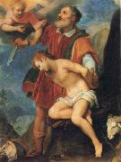 CIGOLI The Sacrifice of Isaac oil