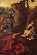 COECKE VAN AELST, Pieter The Agony in the Garden oil painting artist