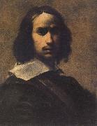 Cairo, Francesco del Self-portrait oil painting