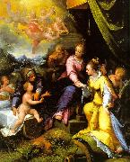 Calvaert, Denys The Mystic Marriage of St. Catherine oil painting picture wholesale
