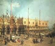 Canaletto Piazza San Marco- Looking Southeast oil painting picture wholesale
