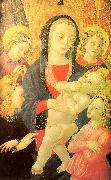 Castello Nativity, Master of the The Virgin Child Surrounded by Four Angels oil painting picture wholesale