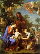Chiari, Giuseppe The Rest on the Flight into Egypt oil