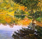 Clark, Kate Freeman Mill Pond- Moors Mill oil