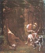 Courbet, Gustave The Quarry oil painting picture wholesale