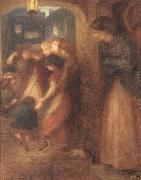 Dante Gabriel Rossetti The Gate Memory oil painting picture wholesale