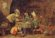 David Teniers Smokers and Drinkers oil painting picture wholesale