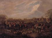 Dean Wolstenholme The Essex Hunt,1831 A set of Four Paintings oil painting picture wholesale
