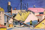 Dickinson, Preston Factories oil painting reproduction