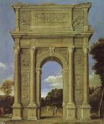 Domenico Ghirlandaio Triumphal Arch oil painting picture wholesale